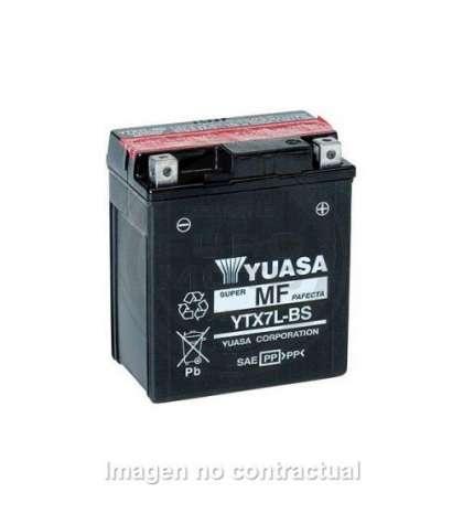 BATERIA YUASA YTX7L-BS R: 61319