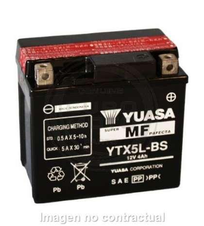 BATERIA YUASA YTX5L-BS R: 61318