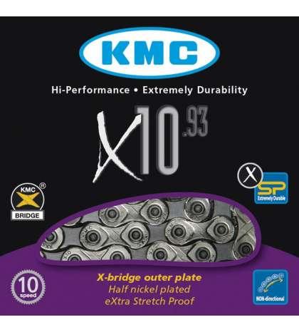 CADENA X10-93 114 PASOS - KMC - R: 31243