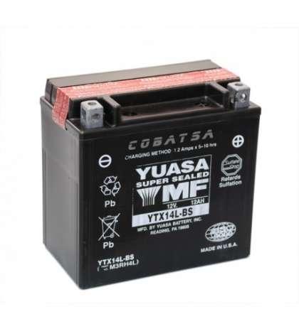 BATERIA YUASA YTX14L-BS R: 31687