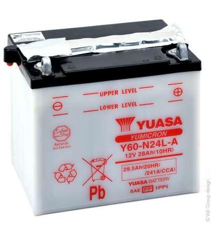 BATERIA Y60-N24L-A- YUASA - R: 61421