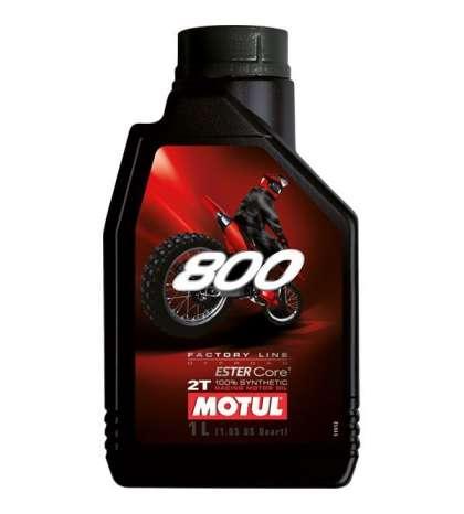 ACEITE MOTUL 800 2T 100 % SINTÉTICO FL OFF ROAD ( 1 LITRO )