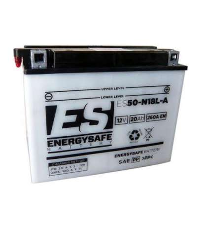 BATERÍA ENERGYSAFE ES50-N18L-A ( CON ÁCIDO ) R: 0682034