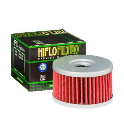 FILTRO ACEITE SUZUKI DR 650 96/97 - HIFLOFILTRO - R: HF137
