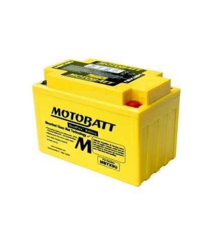 BATERÍA MOTOBATT MBTX9U (YTX9-BS/YT12A-BS/YTZ12-S)