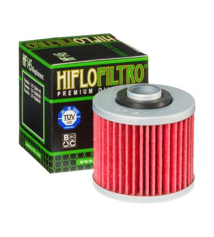 FILTRO ACEITE APRILIA PEGASO 660 05/10, DERBI MULHACEN 660 06 - HIFLOFILTRO - R: HF145