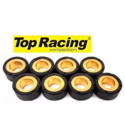JUEGO DE RODILLOS 17X12 (4 GRAMOS) - TOP RACING - R: 6064452
