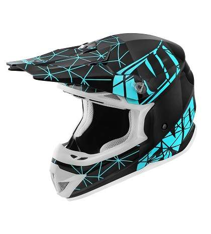 CASCO DE CROSS TM NOEND ORIGAMI LIGHT BLUE R: 441866B