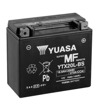 BATERIA YUASA YTX20L-BS R: 61330