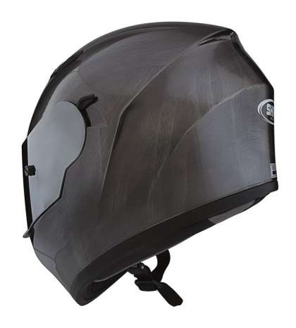 CASCO INTEGRAL SCRATCHED CHROME TL CON PINLOCK - SHIRO - R: 1083 91