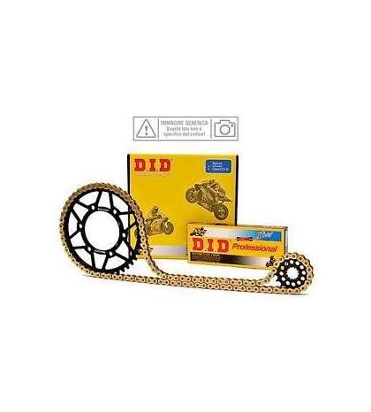 KIT PLATO+PIÑON+CADENA KTM SXC 620 LC4 00/02 - D.I.D. - R: K0783
