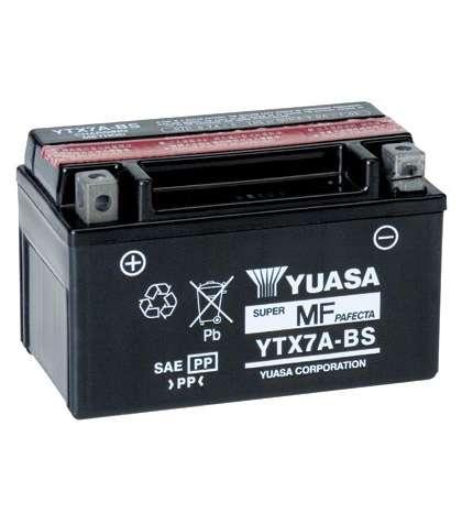BATERIA YTX7A-BS - YUASA - R: 61321