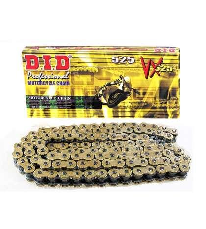 CADENA 525 X 116 VX ORO CON RETENES - D.I.D. - R: 28041167Z