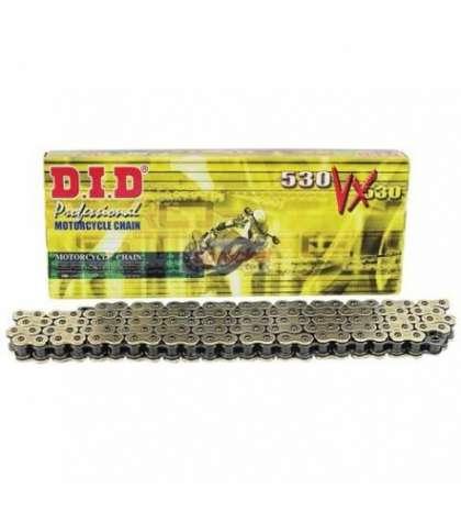 CADENA 530 122 Z. MOD. VX ORO CON RETENES - D.I.D. R: 28051227Z