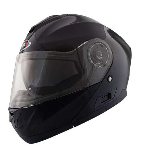 CASCO ARTICULADO SH-507 TM NEGRO/BRILLO - SHIRO - R: 1070 02
