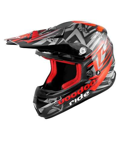 CASCO CROSS TM ROJO SC15 - VOODOO RIDE - R: 441941B