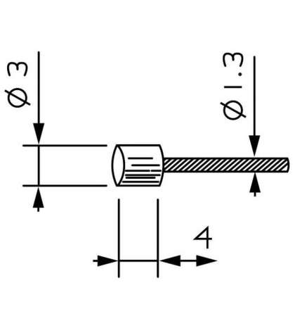 CABLE DE GAS VESPA CALIDAD STANDART R: 169