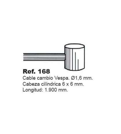 CABLE CAMBIO VESPA CALIDAD STANDART R: 168