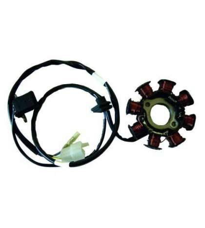 STATOR 8 POLOS MOTOR KYMCO 125/150 4T AIRE - SGR - R: 04163064
