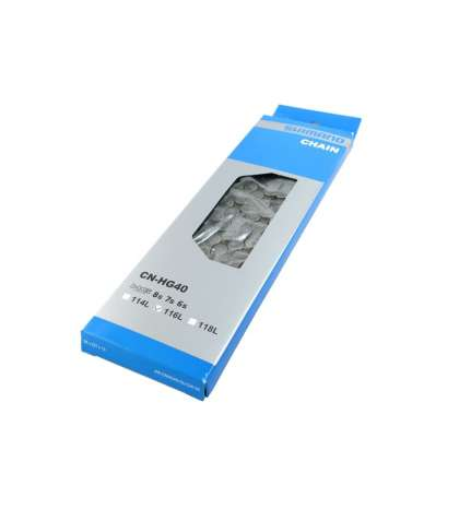 CADENA 6/7/8 V. CNHG40 MTB / CARRETERA - SHIMANO - CNHG40T116Q
