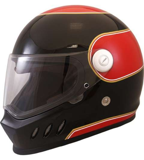 CASCO INTEGRAL TM SH 800 CR 3 ROJO/NEGRO SHIRO R: 1134 00