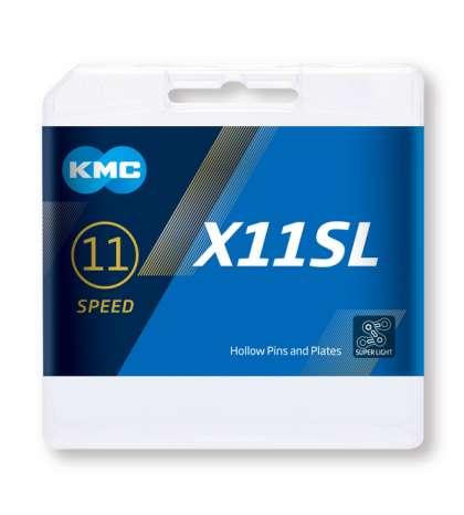 CADENA X11 SL 114 PASOS 11V ORO - KMC - R: 31280
