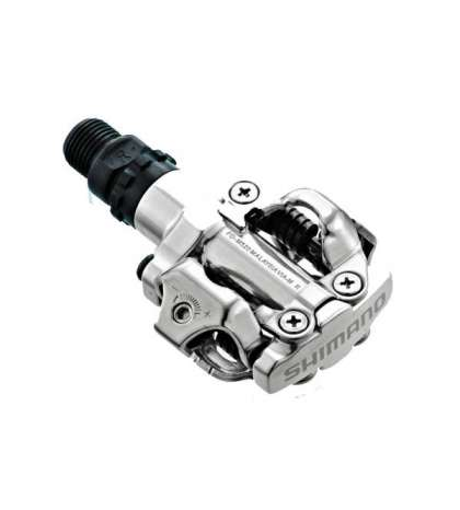 PEDALES SHIMANO M520 PLATA R :PDM520S