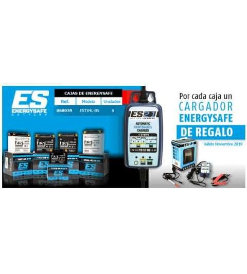 PACK ( 6 BATERÍAS ) ESTX4L BS ENERGYSAFE + CARGADOR BATERÍAS R: P4C